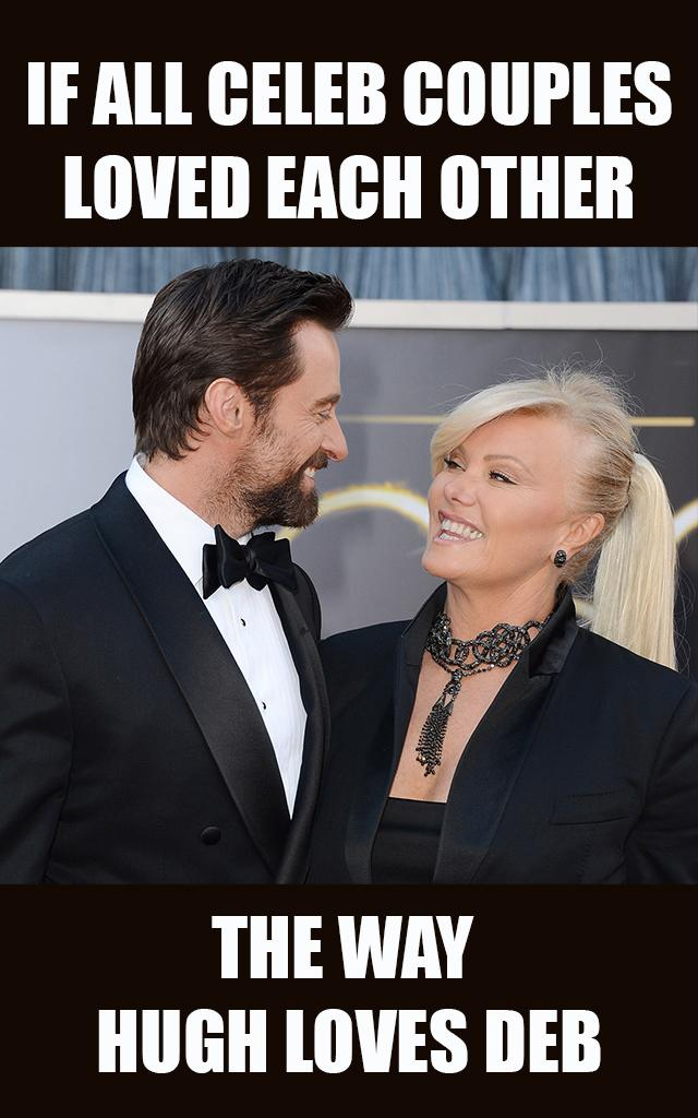 Hugh Jackman and Deborra-Lee Furness are celebrating 21 years of marriage. (Photo: Getty Images)