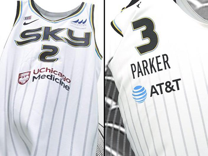 chicago sky heroine edition jerseys