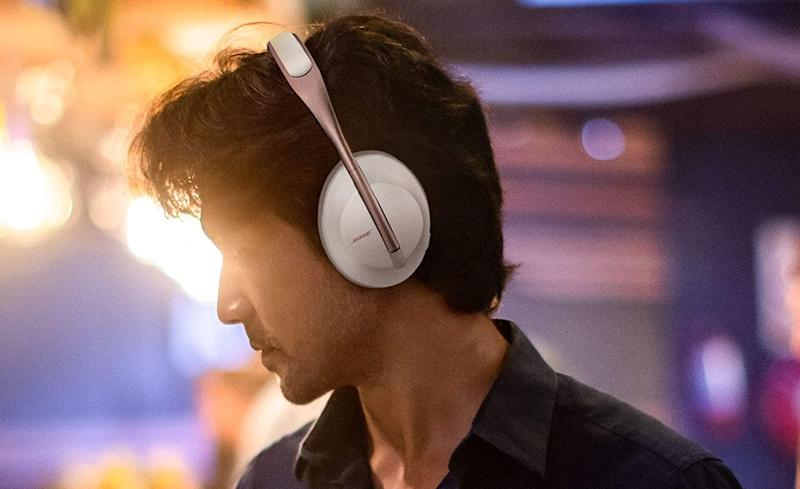 Save a whopping $100 on the Bose 700 noise-canceling headphones (Arctic White). (Photo: Bose)