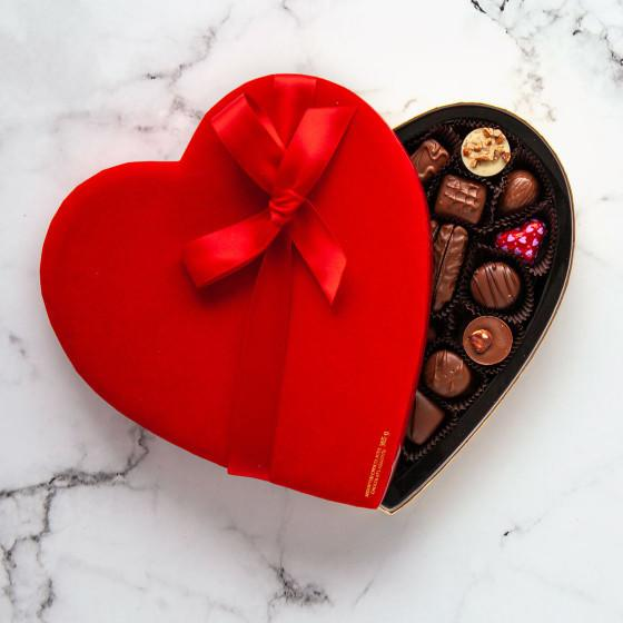 Milk Chocolate Heart Box. Image via Purdy's.