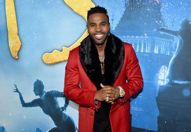 Jason Derulo attends the world premiere of 'Cats' on December 16, 2019. (Photo by Jamie McCarthy/Getty Images for Universal Pictures)