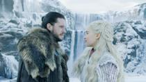 """<p><strong>For Daenerys:</strong> Long snow-white hair and tasteful Winter clothing will turn you into the beautiful Daenerys Targaryen in no time. Make sure to curl your long locks and bring a dragon as your trusty accessory.</p> <p><strong>For Jon Snow:</strong> One of the most iconic characters we've seen, being Jon Snow should for sure be on your radar this <a class=""""link rapid-noclick-resp"""" href=""""https://www.popsugar.com/Halloween"""" rel=""""nofollow noopener"""" target=""""_blank"""" data-ylk=""""slk:Halloween"""">Halloween</a>. Bundle up in your largest faux-fur coat, flaunt your curly hair or slick it back into a low pony, and if you can, grow a 'stache.</p>"""