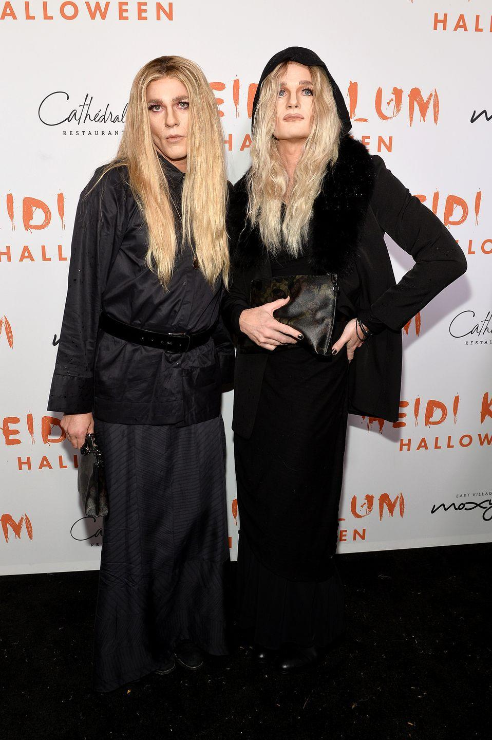 <p>Neil Patrick Harris and his husband David Burtka dressed up as twins Mary Kate and Ashley Olsen for Halloween in 2019. There is absolutely nothing about this costume that isn't perfection. The contour. The hair. The all-black outfits. It's *chef's kiss* hilarious. </p>