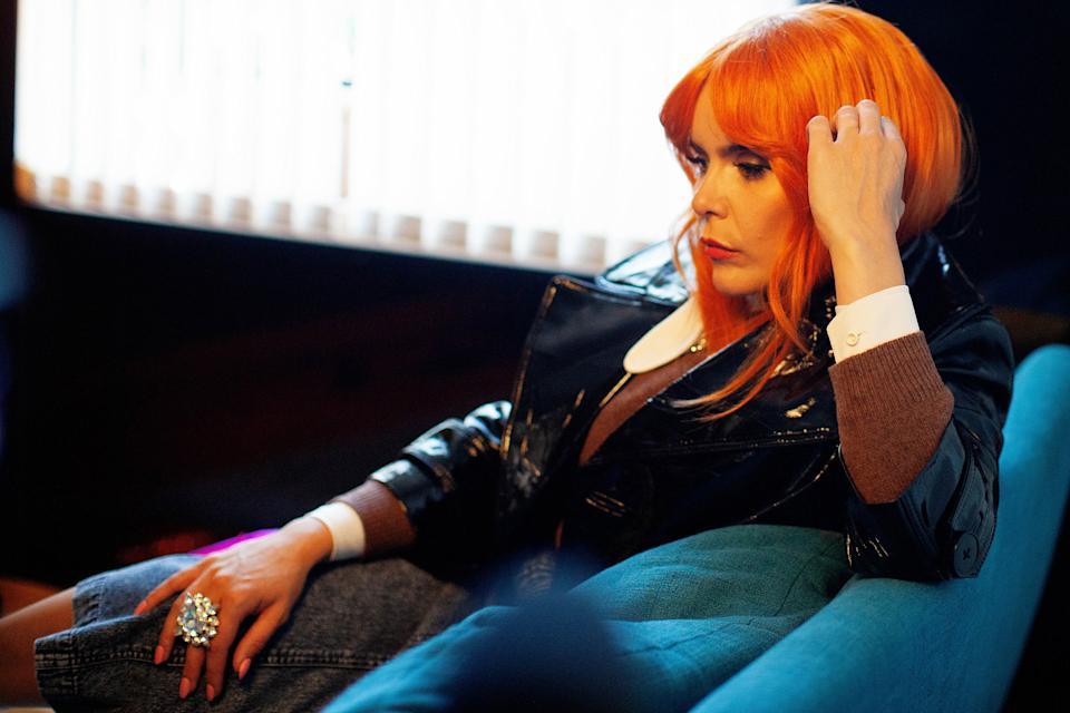 A still from the upcoming documentary called Paloma Faith: As I Am. The documentary looks at juggling stardom and motherhood.  (Mosaic Films/Jane Mingay)