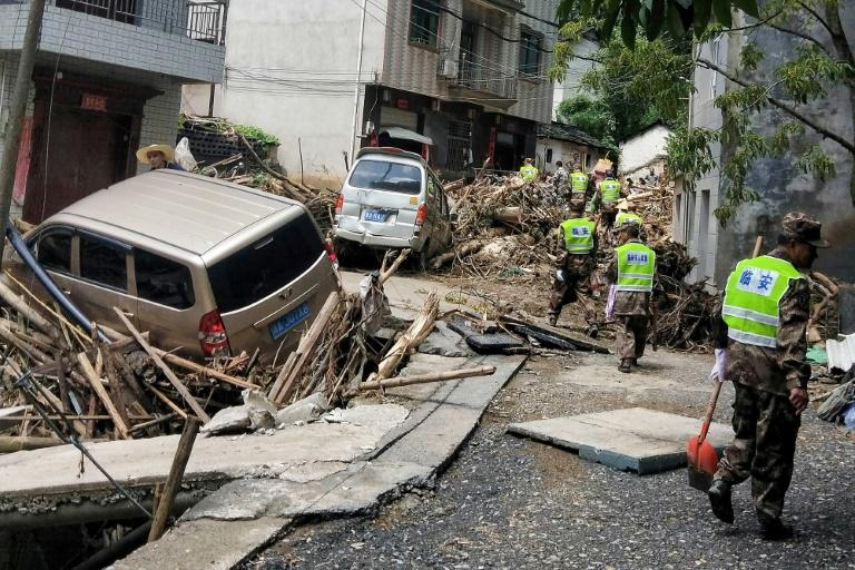Typhoon Lekima hit the Chinese provinces of Zhejiang, Shandong and Anhui over the weekend, forcing more than two million residents to flee