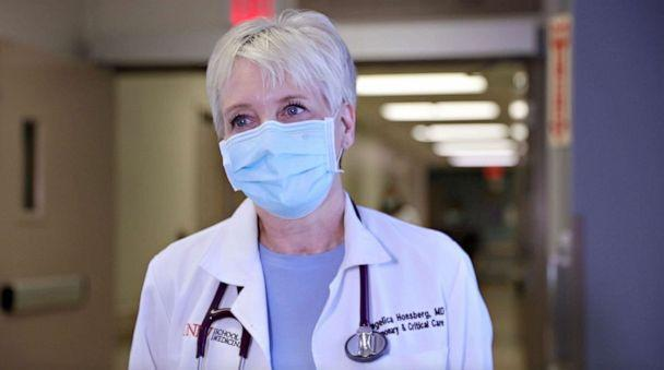 PHOTO: Dr. Angie Honsberg, Medical Director for the ICU at University Medical Center of Southern Nevada. (University Medical Center of Southern Nevada)