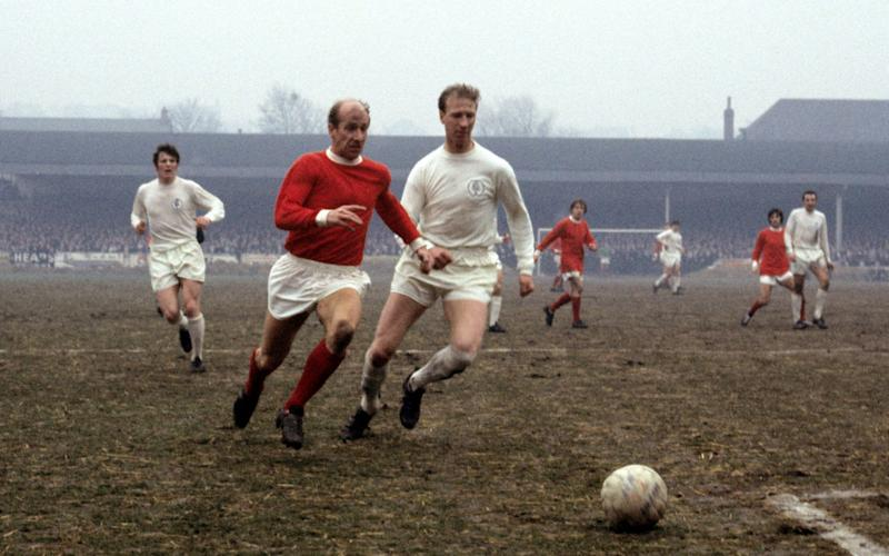 Taking on his brother Bobby in 1969 - PA