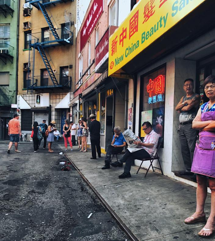 Residents in Manhattan's Chinatown. / Credit: Lynnette Blanche/Welcome to Chinatown