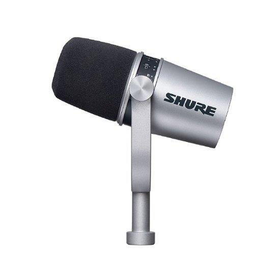 best microphone for streaming - Shure MV7 Dynamic Cardioid USB Microphone