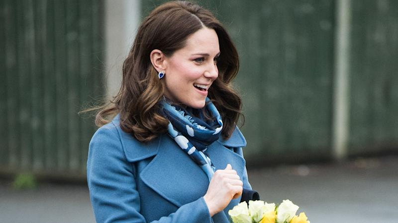 Kate Middleton's Baby Bump Is Finally Visible as She Launches New Mental Health Resource: Pics!