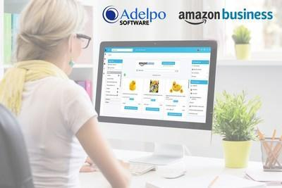 Adelpo Purchasing with Amazon Business Integrated Search Experience