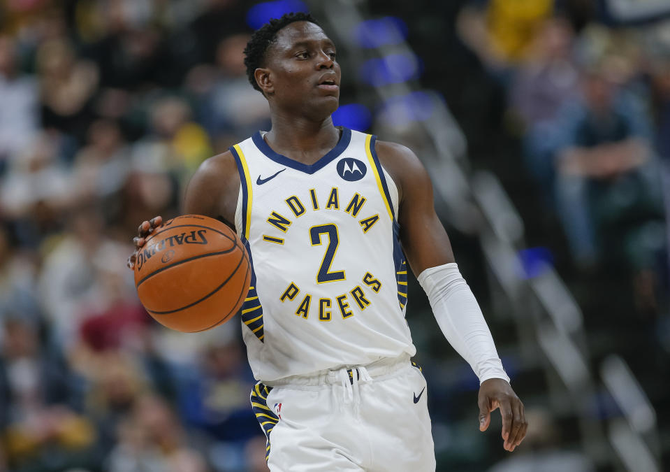 Darren Collison reportedly wants to return to the NBA, and is eyeing both the Los Angeles Lakers and Clippers as possible destinations. (Michael Hickey/Getty Images)