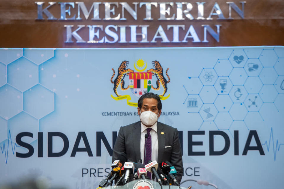 Health Minister Khairy Jamaluddin said clearer SOPs would be provided for the public. — Picture by Shafwan Zaidon