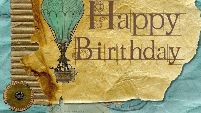 Ilustrasi Ulang Tahun, Happy Birthday (Image by Oberholster Venita from Pixabay)