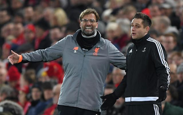 Jurgen Klopp and Liverpool have dealt with soccer's fixture bloat in controversial yet understandable fashion. What if they didn't have to? (Photo by Shaun Botterill/Getty Images)