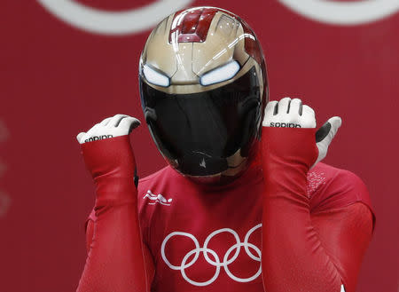 Korea's Yun Sung-bin wins gold in men's skeleton