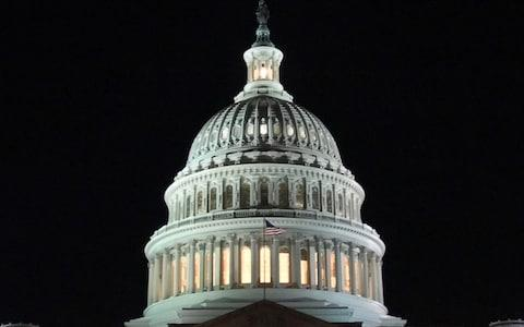 Senators face a long night as they wait to vote on a new spending bill - Credit: Getty Images