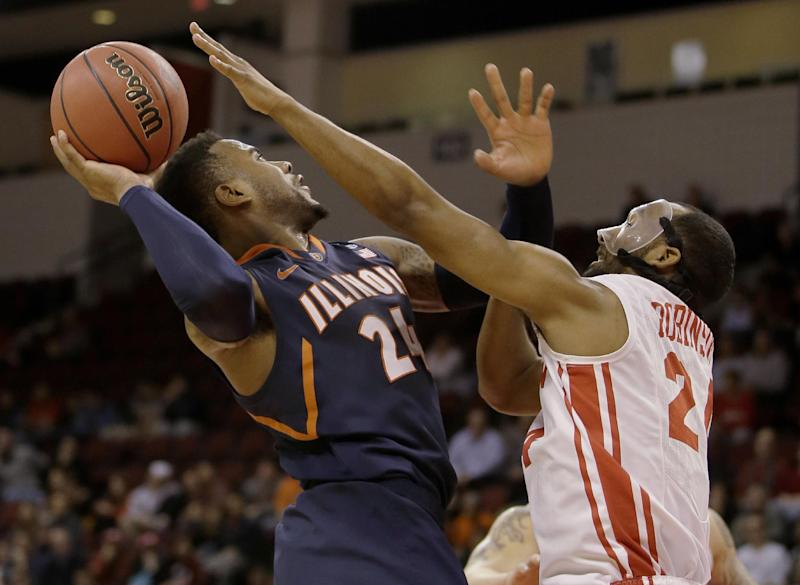 Rice scores 28, Illinois rallies past BU in NIT