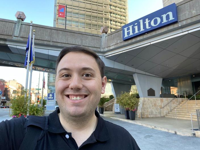 Staying at a Hilton during the pandemic
