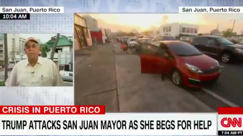 Retired Lieutenant General: While Trump Golfs, San Juan's Mayor Is 'Living On A Cot'