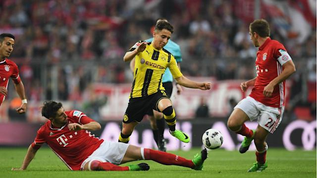 Borussia Dortmund coach Thomas Tuchel has acknowledged Bayern Munich were simply too strong after they were beaten 4-1.