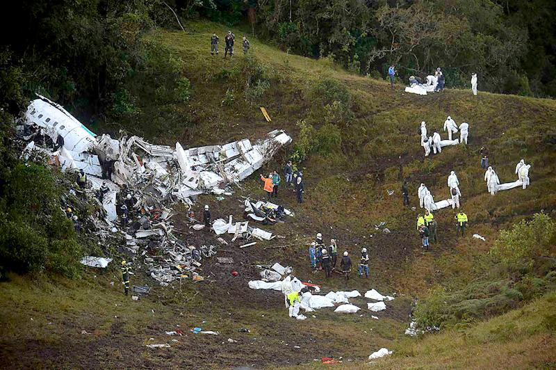 A plane carrying a Brazilian soccer team crashed in Colombia on Monday, November 28, killed more than 70 people — find out more