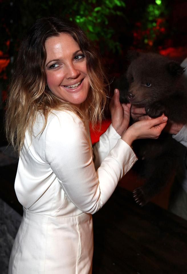 """<a href=""""http://movies.yahoo.com/movie/contributor/1800016287"""">Drew Barrymore</a> attends the 2011 CinemaCon in Las Vegas, Nevada on March 30, 2011."""