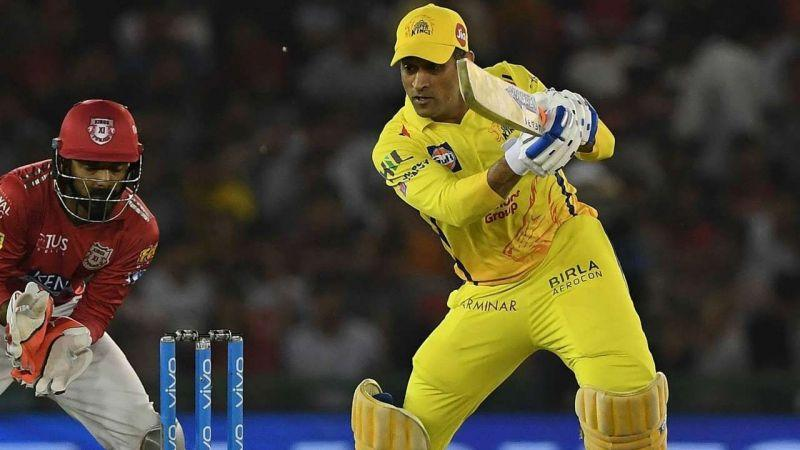 MS Dhoni scored a magical 79* against Kings XI Punjab