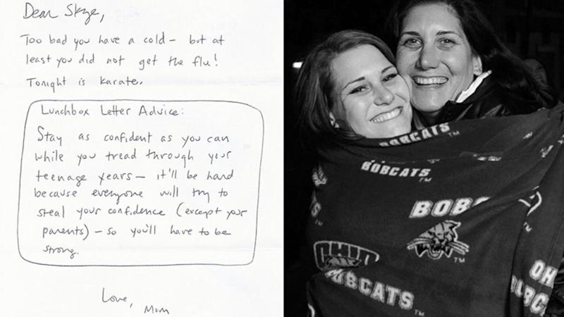 Daughter Makes Thesis Project 11 Years Later Out of Inspiring Lunchbox Notes From Her Mom