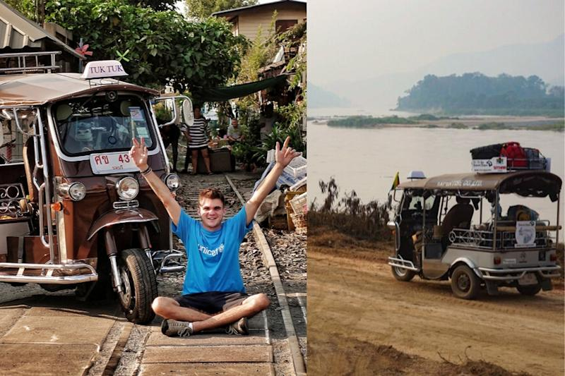 The 'Tuktuk Guy' Traveled from Thailand to Belgium but His Heart Remains in Kolkata