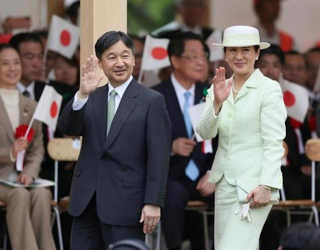 The royal couple will perform the enthronement ceremonies in front of thousands of guests including foreign dignitaries (AFP Photo/JAPAN POOL VIA JIJI PRESS)