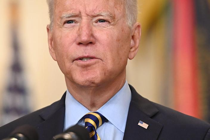 Biden said the war had now crossed into two generations (AFP/Getty)