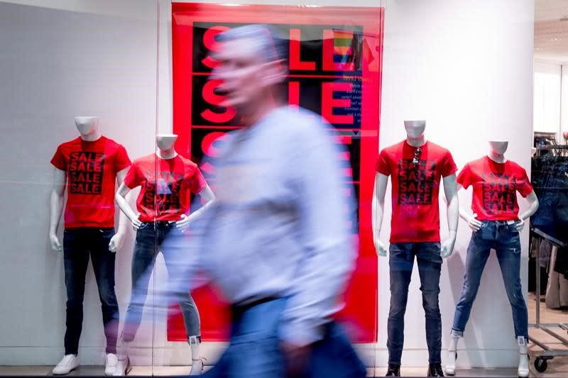 US retail sales up a modest 0.3% in January
