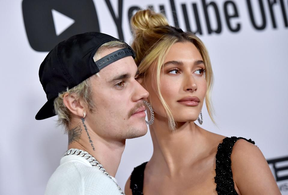 Justin Bieber, pictured with wife Hailey Baldwin, debuted his YouTube special Justin Bieber: Next Chapter on Oct. 30, 2020. (Photo: Axelle/Bauer-Griffin/FilmMagic)