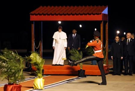 Pope Francis visits Mozambique