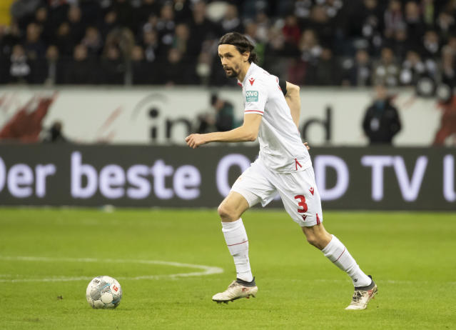 Neven Subotic durante un partido con el Union Berlín. Foto: TF-Images/Getty Images.