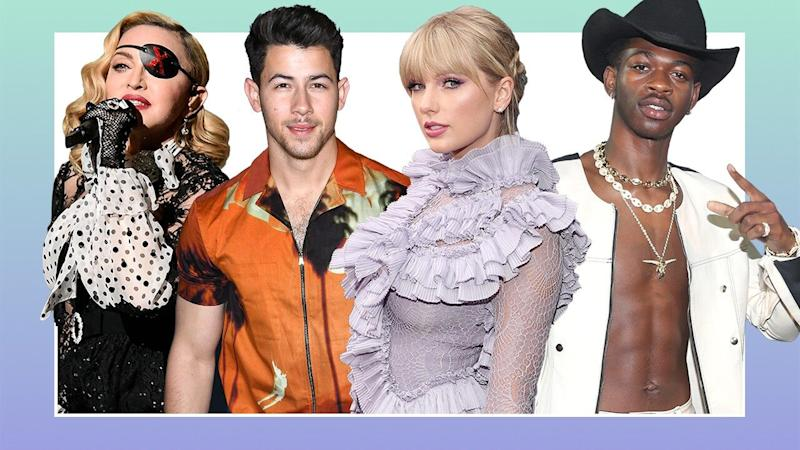 From the Jonas Brothers' red-hot reunion to new music from Miley Cyrus, Taylor Swift and more.