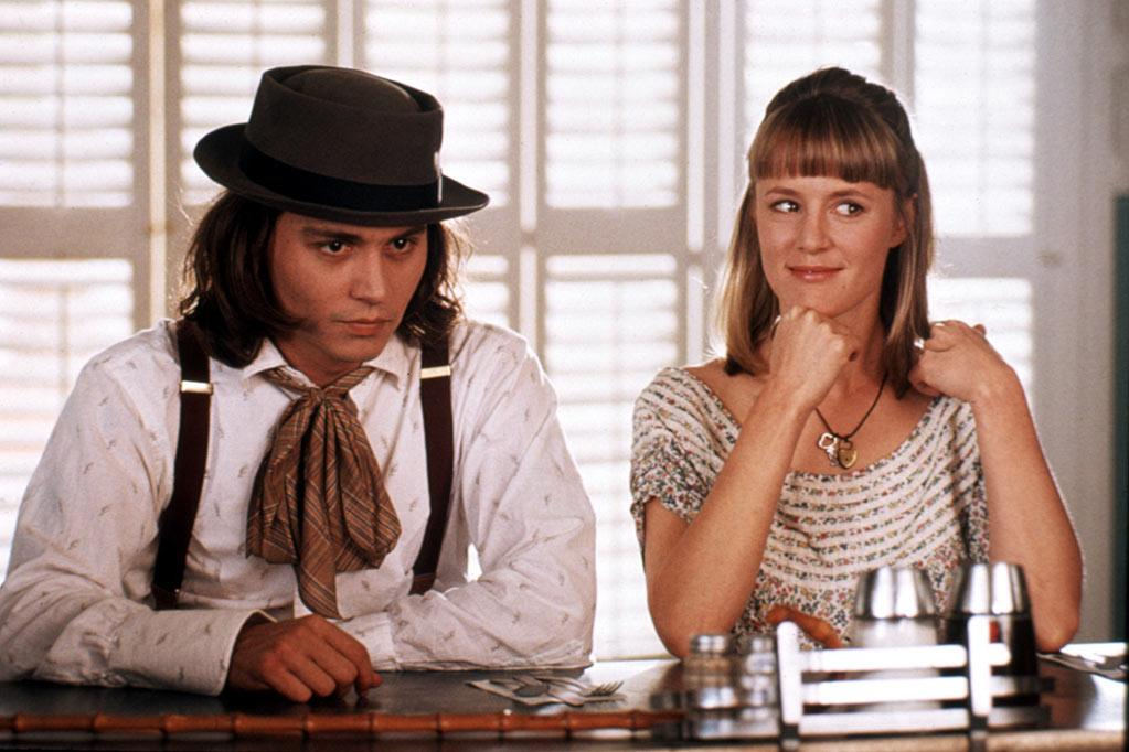 """5. Sam in """"Benny & Joon."""" The 1993 romantic comedy centers on two eccentric individuals, Sam (Depp) and Juniper 'Joon' (Mary Stuart Masterson), finding each other and falling in love. """"Somebody who is different, who is judged on appearance instead of heart, who is looked upon as a freak -- well, all I can say is, freaks are my heroes,"""" Depp has said."""