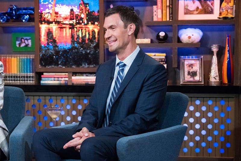 """Jeff Lewis visit """"Watch What Happens Live With Andy Cohen."""" (Photo: Charles Sykes/Bravo/NBCU Photo Bank via Getty Images)"""
