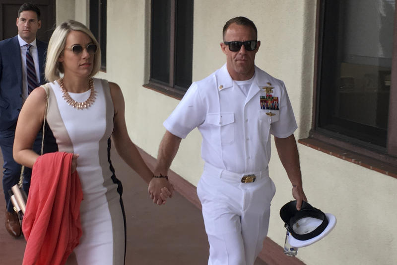 Witness says he saw Navy SEAL stab prisoner