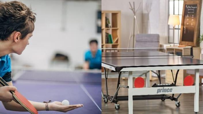 Table Tennis can get competitive--get started with it in your own basement.