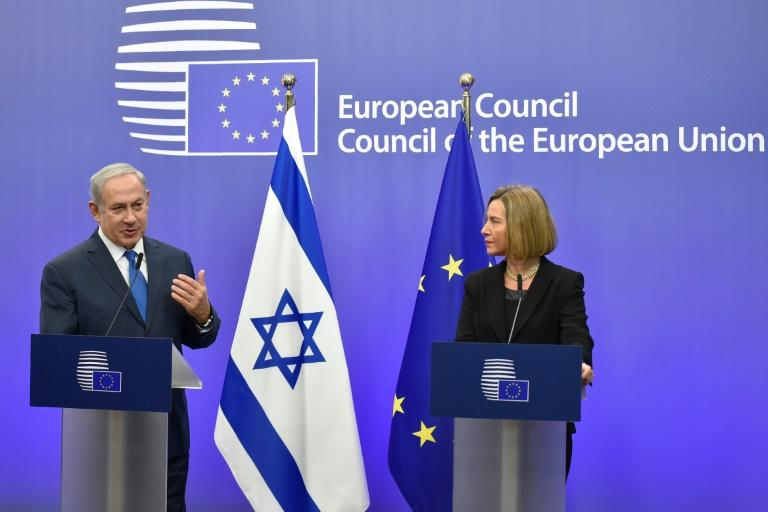 Mogherini said the EU would step up efforts with to relaunch the peace process