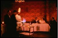<p>It was the height of sophistication to have a dish like Steak Diane or Cherries Jubilee wheeled out and prepared right next to your table.</p>