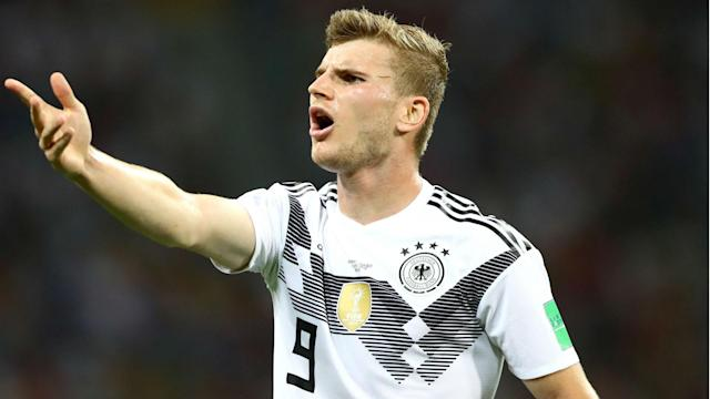 While it has been anything but plain sailing for Germany in Group F, Timo Werner is delighted to be representing his country in Russia.
