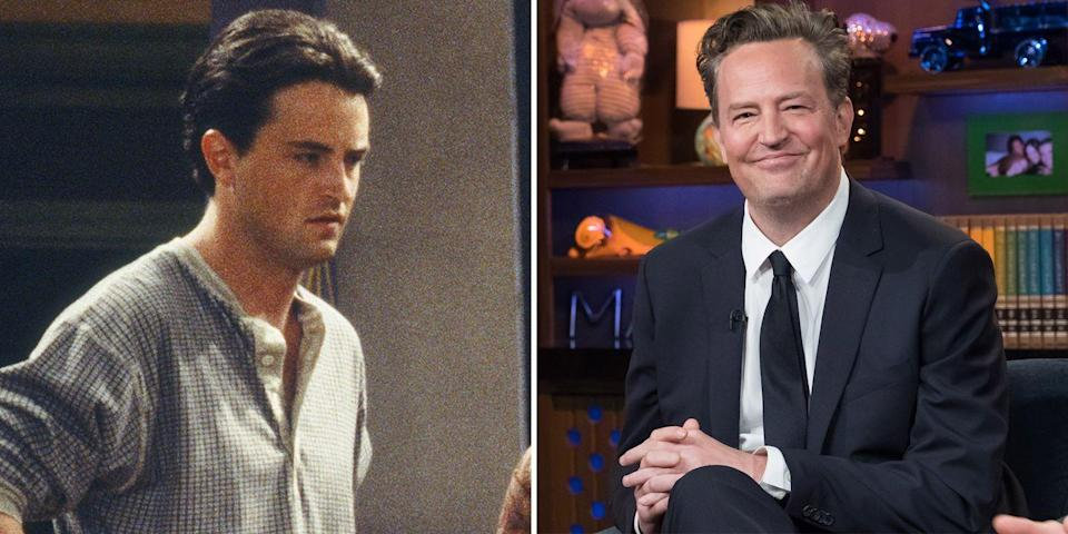"""<p>Matthew Perry has become appreciated by many for his breakthrough role as the show's deadpan comedian of the group, Chandler Bing. The actor has since starred as grown-up Mike O'Donnell in the 2009 film 17 Again and appeared in The Kennedys After Camelot, The Odd Couple, Go On, and Mr. Sunshine. Though Perry has <a href=""""https://www.prevention.com/health/a36489082/matthew-perry-drug-alcohol-addiction/"""" rel=""""nofollow noopener"""" target=""""_blank"""" data-ylk=""""slk:openly struggled"""" class=""""link rapid-noclick-resp"""">openly struggled</a> with alcoholism following the sharp initial rise to fame and has taken breaks from acting, he currently plays lawyer Mike Kresteva in CBS All-Access's The Good Wife spin-off, The Good Fight, which has streamed since 2017.</p>"""