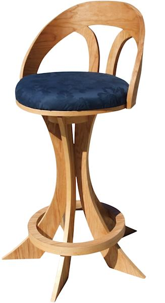 """This undated publicity product photo, a Bespoke chair, crafted in part from white oak plywood, and featured in """"PlyDesign,"""" by Philip Schmidt, is shown. Plywood is versatile, inexpensive and easy to come by. You can find standard, seven-ply plywood at your home-improvement store (and higher-quality plywood at your local lumber center). (AP Photo/ Storey Publishing, Kristin Hare)"""