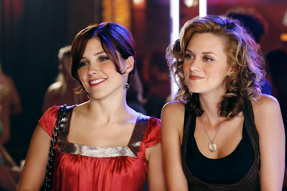 """Sophie Bush and Hilarie Burton in """"One Tree Hill"""" - Credit: ©CW Network/Courtesy Everett Collection"""