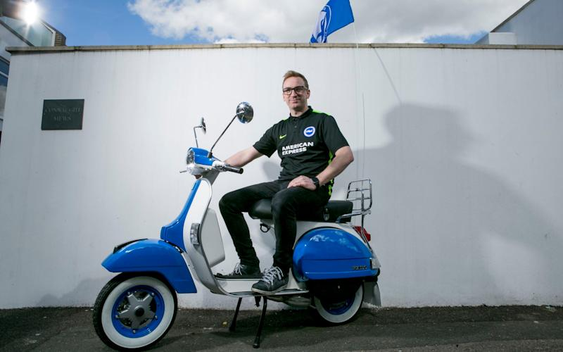 A Seagull-inspired Vespa - Credit: David McHugh for THE TELEGRAPH