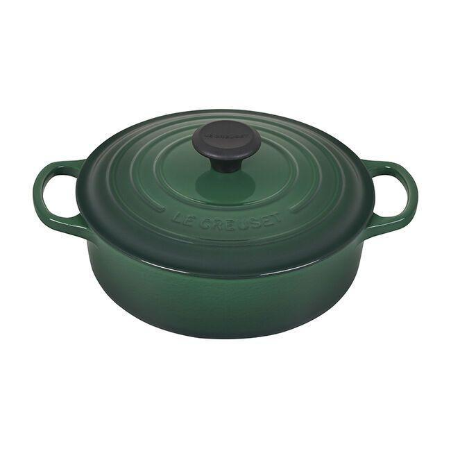 """<p><strong>Le Creuset</strong></p><p>lecreuset.com</p><p><a href=""""https://go.redirectingat.com?id=74968X1596630&url=https%3A%2F%2Fwww.lecreuset.com%2Fround-wide-dutch-oven---factory-to-table-sale-3-1-2-qt.%2FLS2552-FTT.html&sref=https%3A%2F%2Fwww.goodhousekeeping.com%2Flife%2Fmoney%2Fg33563225%2Fle-creuset-factory-sale-august-2020%2F"""" rel=""""nofollow noopener"""" target=""""_blank"""" data-ylk=""""slk:Shop Now"""" class=""""link rapid-noclick-resp"""">Shop Now</a></p><p><del>$295</del><strong><br>$177</strong></p><p>If you're looking to grow your Le Creuset collection, but have no idea where to start, feast your eyes on the classic Dutch Oven. This versatile option is suitable for everything from casseroles to roasts. </p>"""