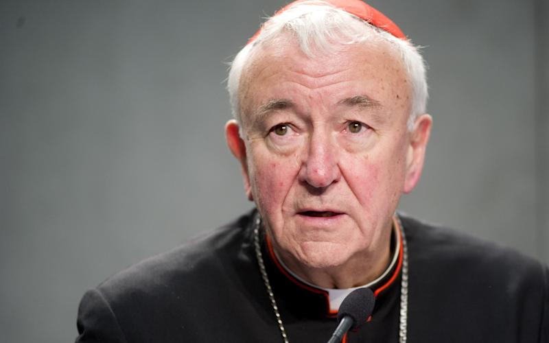 Cardinal Nichols, said priests had been put to death in years gone by in their defence of the Seal of Confession and after refusing to divulge what a penitent had told them.   - Copyright (c) 2016 Rex Features. No use without permission.